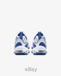 Nike Air Max 98 White Indigo Force Laser Fuchsia Kids Boys Girls Trainers