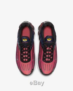 Nike Air Max Plus 3 Blue Void Magic Ember Vivid Purple Kids Boys Girls Trainers