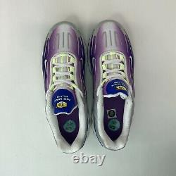 Nike Air Max Plus 3 GS Youth Size 5.5Y Women's 7 Purple Nebula Blue Gray Shoes
