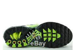 Nike Air Max Plus GS Black Yellow Kids Boys Girls Trainers All Sizes (PTI)