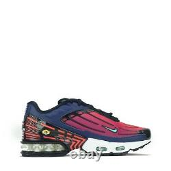 Nike Air Max Plus III 3 Tuned Junior Trainers Shoes Blue, Green