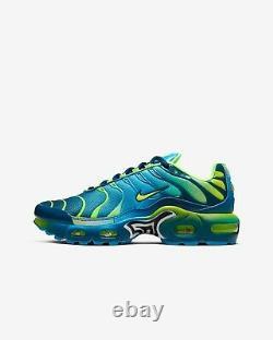 Nike Air Max Plus QS Blue Hero Blue Force Volt Kids Boys Girls Shoes All Sizes