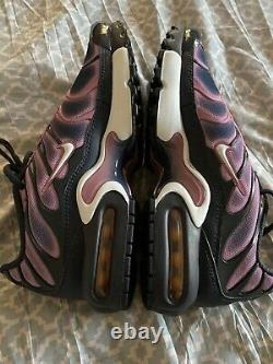 Nike Air Max Plus TN GS Running Shoes Youth Casual 718071-006 Size 6y Women 7.5