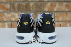 Nike Air Max Plus TN GS Youth Running Shoes Gray Pink Black Size 5.5Y 718071-007