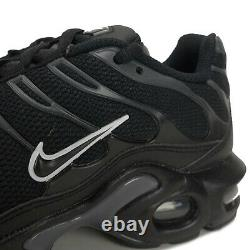 Nike Air Max Plus Tuned Junior Trainers Shoes Black