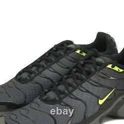 Nike Air Max Plus Tuned Junior Trainers Shoes Dark Grey