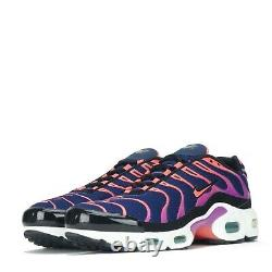 Nike Air Max Plus Tuned TN Junior Trainers Shoes Blue, Ember