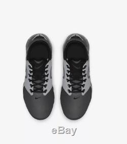 Nike Air VaporMax Wolf Grey Dark Grey Black Kids Boys Girls Trainers All Sizes