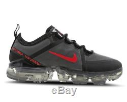 Nike Air Vapormax Cool Grey Crimson Kids Boys Girls Trainers All Sizes