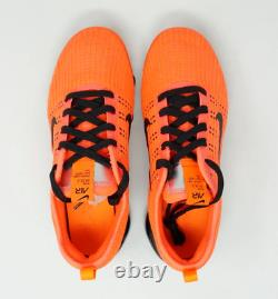 Nike Air Vapormax Flyknit 3 GS Running Shoes Flash Crimson Black Size 5Y