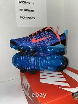 Nike Big Kids Air VaporMax Flyknit 3 GS Blue Fury Running Shoe BQ5238-401 SZ 4y