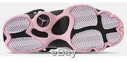 Nike Big Kids' Girl's Air Jordan 6 RINGS GS Shoes Black/Pink Foam 323399-006 d
