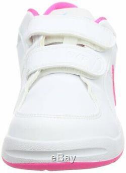 Nike Girl's Tanjun Shoe Obsidian/Bleached Coral/White Size 11 Kids US