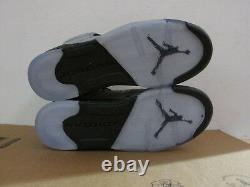 Nike Girls Air Jordan 5 Retro GS Hi Top Trainers 440892 008 Shoes CLEARANCE