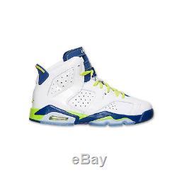 Nike Girls Air Jordan 6 VI Retro Gs Kids 543390-108 Fierce Green Shoes Size 6