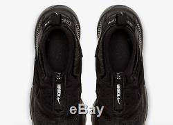 Nike Huarache Gripp Triple Black Kids Boys Girls Trainers All Sizes