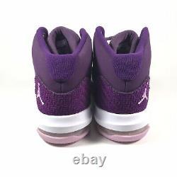 Nike Jordan Max Aura GS Youth Basketball Shoe Pro Purple Pink AQ9249-500 Sz 3.5Y