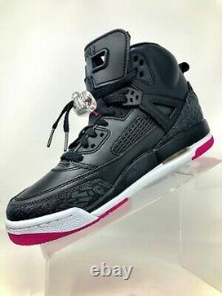 Nike Jordan Spizike GG Girls Youth Black Basketball Shoes Size 6Y Women 7.5