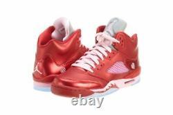 Nike Kid's Air Jordan 5 Valentine's Day Sz 5y 440892-605 Basketball Shoes