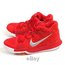 Nike Kyrie Irving 3 (GS) University Red/White Youth Basketball Shoes 859466-601