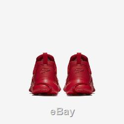 Nike Presto Fly Triple All University Red Boys Girls Kids Size 4-7 GS 913966 600