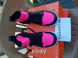Nike Shoes Tennis Air Jordan 1 Flare Athletic 878458-006 Black Pink Size 6.5