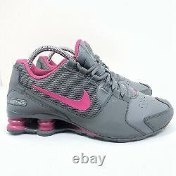 Nike Shox Avenue Youth Girls Athletic Shoes Size 7Y 848117-006 8.5 Women US