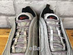 Nike Uk 5.5 Eu 38.5 Silver Bullet Air Max 97 Trainers Ladies Childrens Girls