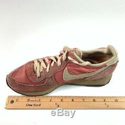 Nike Unisex Kids Valkyrie Sneakers Pink Lace Up Low Top Shoes 80s Vintage 4.5