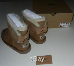 Nwb Girl's Size 5 Ugg Australia Big Kids Kandice Chestnut