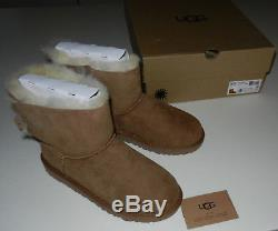 Nwb Girl's Size 5 Ugg Australia Big Kids Kandice Chestnut
