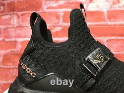 PUMA x Selena Gomez Defy Mid Jr Girl's Shoe Black-rose Gold Size 4.5 Big Kid