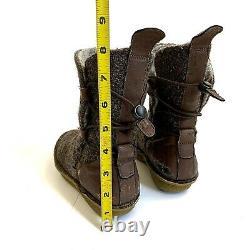 Po-Zu Star Wars Rey Wool Desert Boots Brown EU 31 Kids 13 The Force Awakens RARE