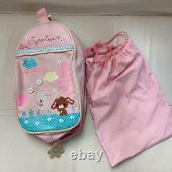 RANDOSERU Sanrio Sugarbunnies Japanese School Bag Backpack Red withShoe bag USED