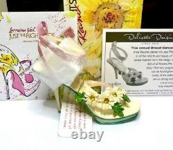 RARE Just The Right Shoe DELICATE DAISIES By Lorraine Vail (Raine)