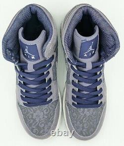 Rare Nike Air Jordan 1 Retro High GS Daybreak Purple Lace Shoe Youth Girls Sz 7Y