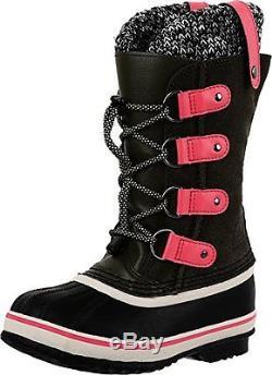 SOREL Kids 1690471-383 Girls Joan of Arctic Knit (Little Kid/Big Kid) Boot