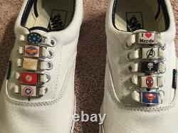 Shoe Lace Metal Charm Comic Con Anime Superhero JOB LOT 450 assorted charms