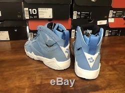 Size 5 Youth Nike Air Jordan Retro 7 Pantone Blue Gs Girls Kids Y