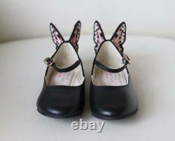 Sophia Webster Kids Girls Chiara Leather Shoes Uk 12