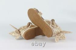 Sophia Webster Kids Girls Glitter Butterfly Sandals Eu 30 Uk 12