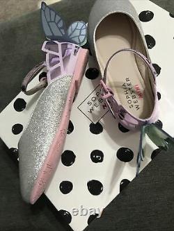 Sophia webster mini Chiara Glitter And Multi Pastel Shoes Size 29 (9)