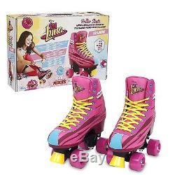 Soy Luna Training Skates Size 32/33 Girl Kid Children Castors Rollers Wheeled