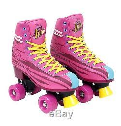 Soy Luna Training Skates Size 36/37 Girl Kid Children Castors Rollers Wheeled