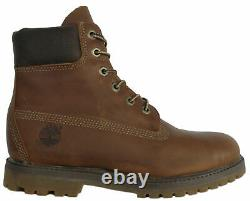 Timberland AF 6 Inch Premium Womens Girls Waterproof Leather Boots 8261R B73C