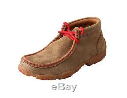Twisted X Casual Shoes Boys Girls Kid Driving Mocs Bomber Red YDM0021