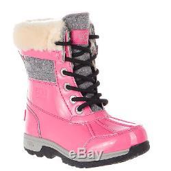 UGG Australia BUTTE II PATENT SPARKLE Boot Kid 1019209K Girls