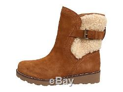 UGG Australia-Big Kid/Youth JAYLA Boots-1005467K-100% Authentic-Chestnut