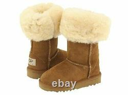 UGG Australia Infants' Classic Tall Suede Boots, Chestnut, 8 Child US 8 M US
