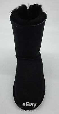 UGG Kids/Girls Bailey Bow Boots 3280Y Black Size 6